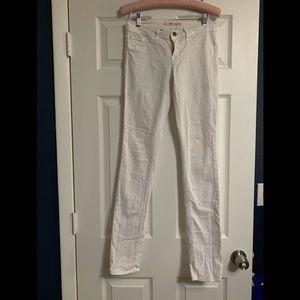 JBrand white jeans so 27